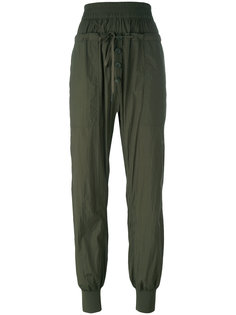зауженные брюки DKNY