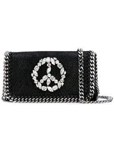 сумка с принтом пацифика из кристаллов Stella McCartney