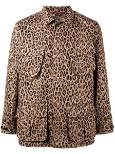 леопардовая куртка на молнии Uniform Experiment