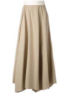 плиссированная юбка Loewe