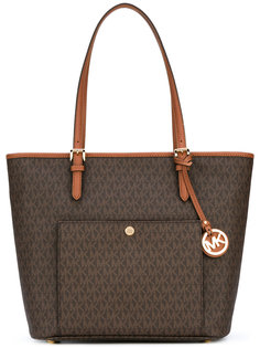 сумка-тоут с принтом-логотипом Michael Michael Kors