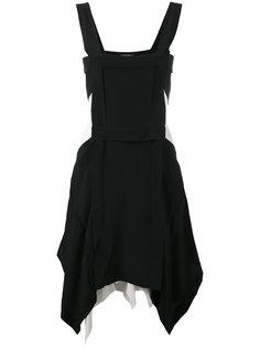 платье-фартук с асимметричным подолом Isabel Marant