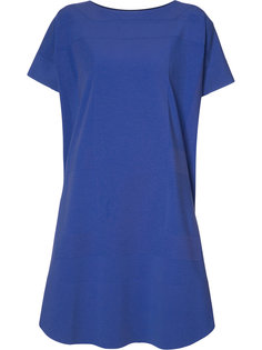 платье-футболка свободного кроя Issey Miyake