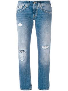 рваные джинсы-бойфренды Dondup