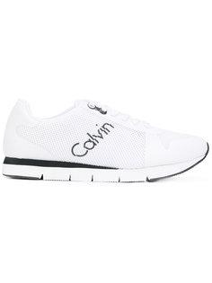 сетчатые кроссовки с логотипом Calvin Klein