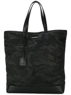 сумка-тоут с камуфляжным принтом  Saint Laurent