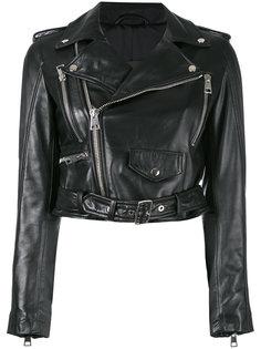 байкерская куртка на молнии Manokhi
