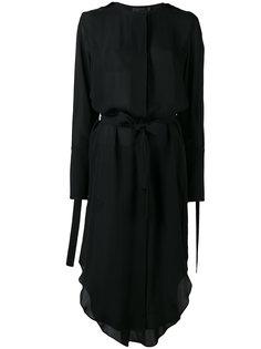 платье с завязками Calvin Klein