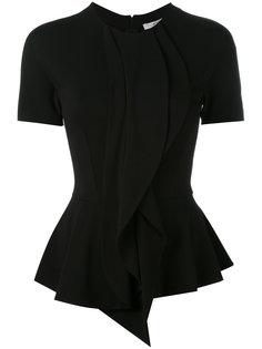 приталенная блузка с баской Givenchy