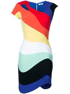 облегающее платье Rainbow Wave Mugler