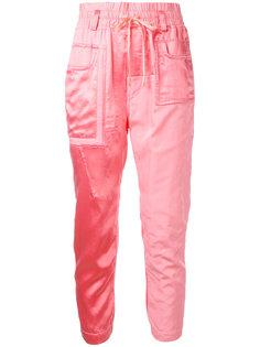 спортивные брюки с накладным карманом  Haider Ackermann