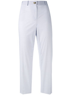 клетчатые брюки Salvatore Ferragamo