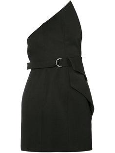 асимметричная блуза Saint Laurent