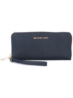 континентальный кошелек  с ремешком на запястье Jet Set  Michael Michael Kors