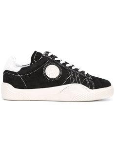 кроссовки на шнуровке с нашивками Eytys