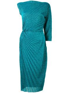асимметричное платье с плиссировками A.F.Vandevorst