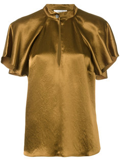 блузка с короткими рукавами Lanvin