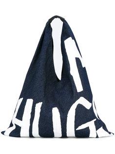 сумка-тоут с рисунком Mm6 Maison Margiela
