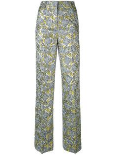 жаккардовые брюки Netro  Essentiel Antwerp