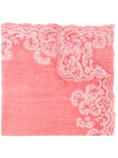 шарф с вышивкой Faliero Sarti