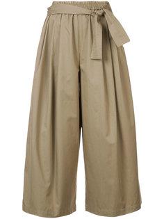 укороченные брюки-палаццо  Tome