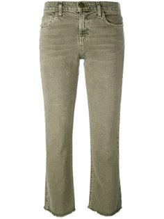 расклешенные джинсы с необработанным низом Current/Elliott