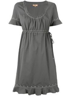 платье с люверсами и эластичным поясом Fay