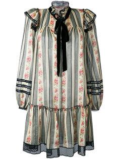 жаккардовое газовое платье  Marc Jacobs