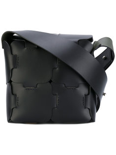 сумка с эффектом мозаики Paco Rabanne