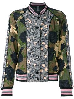 куртка бомбер с принтом Coach