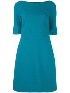 платье-шифт с короткими рукавами Talbot Runhof