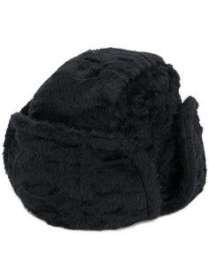 шапка-ушанка Maison Michel