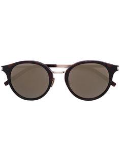 солнцезащитные очки с круглой оправой Saint Laurent Eyewear