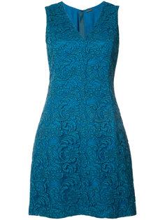 кружевное платье мини  Adam Lippes
