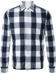 клетчатая куртка-рубашка Kent & Curwen