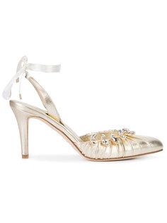 туфли с завязками Sarah Flint