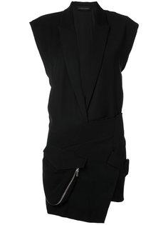 короткое платье-смокинг Alexandre Vauthier