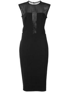 платье без рукавов Martin Grant