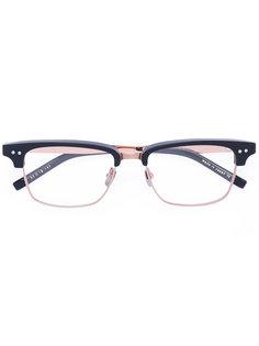 очки в прямоугольной оправе Dita Eyewear