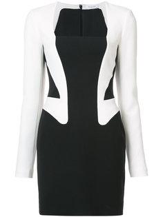 платье-пиджак с оптическим эффектом Mugler