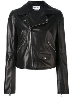 байкерская куртка с карманом с клапаном Loewe