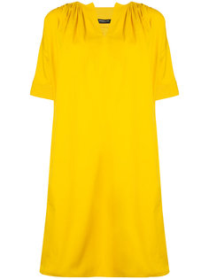 "платье шифт с рукавами ""фонарик"" Derek Lam"
