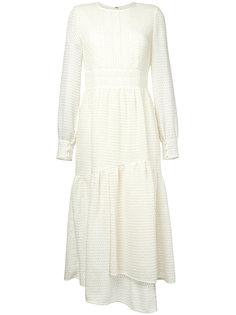 платье с расклешенной юбкой Goen.J
