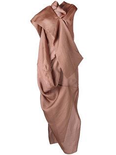 вечернее платье Egret Rick Owens