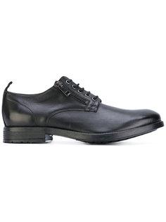 туфли на шнуровке с молниями сбоку Diesel
