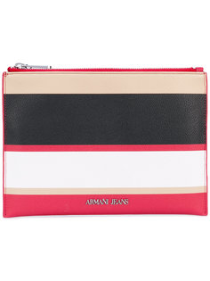 кошелек в полоску Armani Jeans