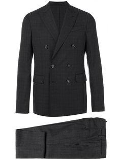 клетчатый костюм с двубортным пиджаком Dsquared2