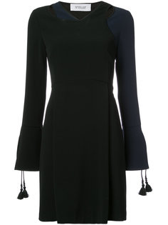 платье мини с кисточками на рукавах  Derek Lam 10 Crosby