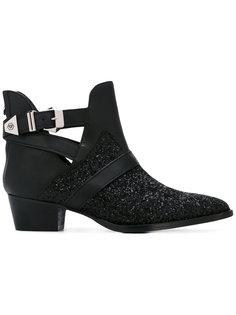 ботинки с заостренным носком Philipp Plein