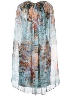платье-шифт с рисунком Isabel Sanchis